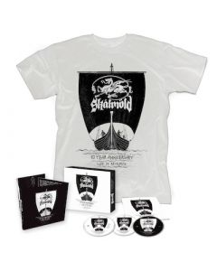 SKALMOLD - 10 Year Anniversary - Live In Reykjavík / 2CD+BluRay + Shirt Bundle