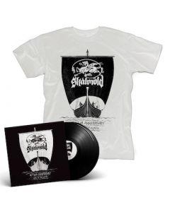 SKALMOLD - 10 Year Anniversary - Live In Reykjavík / BLACK 2LP + T-Shirt Bundle