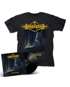 SOJOURNER - Premonitions / BLACK 2LP + T-Shirt Bundle