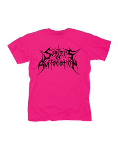 SISTERS OF SUFFOCATION-Pink Logo/T-Shirt