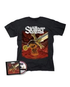 STALKER-Shadow Of The Sword/CD + T-Shirt Bundle