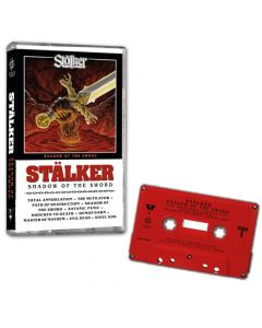 STALKER-Shadow Of The Sword/Limited Edition RED CASSETTE Tape