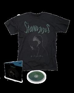 STONED JESUS- Pilgrims/Limited Edition Digipack CD + T-Shirt Bundle