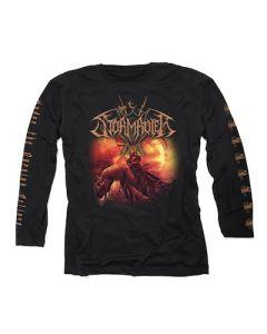 STORMRULER - Under The Burning Eclipse / Longsleeve T-Shirt
