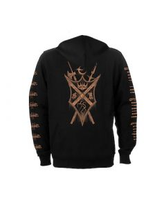 STORMRULER - Under The Burning Eclipse / Zip Hoodie