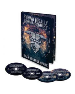 SUBWAY TO SALLY - Eisheilige Nacht - Back to Lindenpark / A5 2CD + DVD + BluRay Mediabook