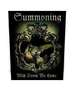 SUMMONING-With Doom We Come/Back Patch