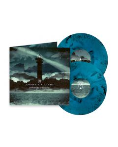 THERE'S A LIGHT - For What May I Hope? For What Must We Hope? / LIMITED EDITION BLUE BLACK MARBLE 2LP PRE-ORDER RELEASE DATE 12/10/21
