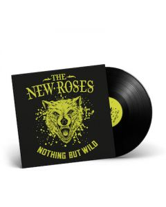 THE NEW ROSES - Nothing But Wild / BLACK LP