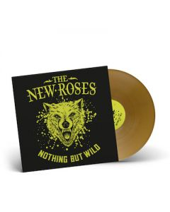 THE NEW ROSES - Nothing But Wild / GOLD LP
