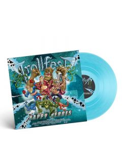 TROLLFEST - Happy Heroes / CLEAR BLUE LP