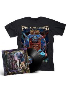 THE UNGUIDED - Father Shadow / BLACK 2LP + T-Shirt Bundle