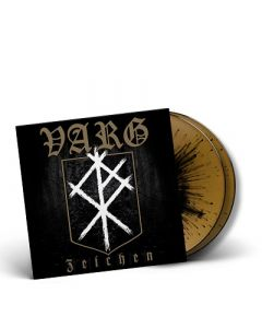 VARG-Zeichen/Limited Edition GOLD BLACK SPLATTER Gatefold 2LP