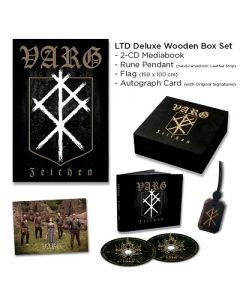 VARG-Zeichen/Limited Edition DELUXE WOODEN BOXSET