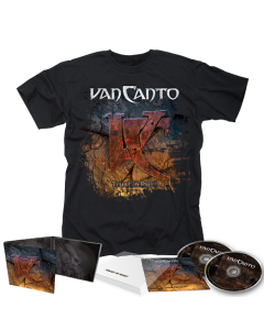 VAN CANTO-Trust In Rust/Limited Edition Digipack 2CD + T-Shirt Bundle
