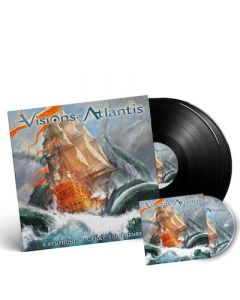 VISIONS OF ATLANTIS - A Symphonic Journey To Remember / Black 2LP + DVD