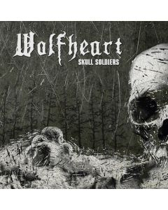 WOLFHEART - Skull Soldiers / LIMITED EDITION SILVER LP + PATCH