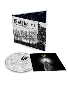 WOLFHEART - Wolves Of Karelia / Digipak CD + T-Shirt Bundle