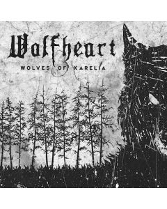 WOLFHEART - Wolves Of Karelia / 10cm X 10cm Printed Patch