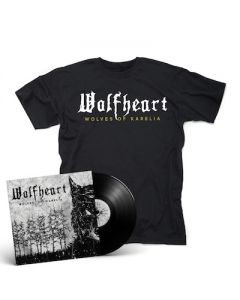 WOLFHEART - Wolves Of Karelia / BLACK LP + T-Shirt Bundle