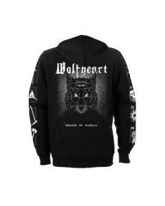 WOLFHEART - Wolves Of Karelia / Zip Hoodie