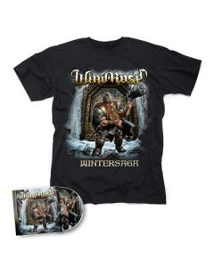 WIND ROSE-Wintersaga/CD + T-Shirt Bundle