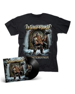 WIND ROSE-Wintersaga/Limited Edition BLACK Vinyl Gatefold LP + T-Shirt Bundle
