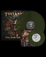 """TESTAMENT - First Strike Still Deadly / Swamp Green LP + 7"""""""