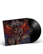 EVIL INVADERS-Feed Me Violence/Limited Edition BLACK Gatefold LP