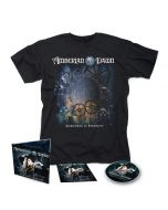 AMBERIAN DAWN-Darkness Of Eternity/Limited Edition Digipack CD + T-Shirt Bundle