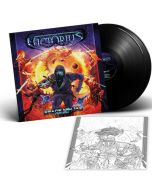 VICTORIUS - Space Ninjas From Hell / BLACK 2LP Gatefold