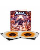 RAGE - Resurrection Day / NAPALM RECORDS EXCLUSIVE WHITE ORANGE SPLATTER 2LP PRE-ORDER RELEASE DATE 9/17/21
