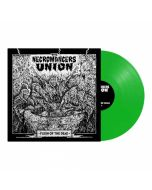 THE NECROMANCERS UNION - Flesh Of The Dead / LIMITED EDITION Neon Green LP PRE-ORDER RELEASE DATE 11/19/21