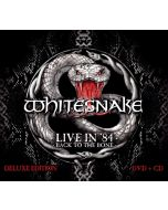 WHITESNAKE - Live In 1984: Back To The Bone / CD+DVD