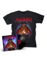 ALESTORM - Curse Of The Crystal Coconut / Black LP + T-Shirt Bundle