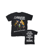 CHRISTOPHER BOWES AND HIS PLATE OF BEANS/T-Shirt