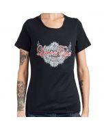 LEAVES' EYES-Logo Fan Edition/T-Shirt (Womens)