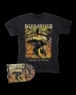 DEVILDRIVER-Outlaws 'Til The End Vol. I/CD + T-Shirt Bundle