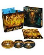 DESTRUCTION - Live Attack / 2CD & Blu-Ray Digipak