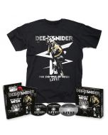 DEE SNIDER - For The Love Of Metal Live / CD + DVD + BLU-RAY Digipak + T-Shirt BUNDLE