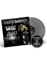 DEE SNIDER - For The Love Of Metal Live / SILVER 2LP + DVD