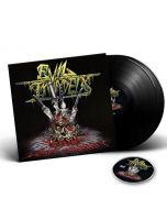 EVIL INVADERS-Surge Of Insanity: Live In Antwerp 2018/Limited Edition BLACK Vinyl  Gatefold 2LP + DVD