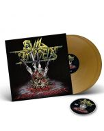 EVIL INVADERS-Surge Of Insanity: Live In Antwerp 2018/Limited Edition GOLD Vinyl Gatefold 2LP + DVD