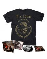 EX DEO-The Immortal Wars/Limited Edition Digipack CD + T-Shirt Bundle + Autographed Booklet (first 200 orders)