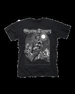 GRAVE DIGGER-Skeleton Bagpiper/T-Shirt