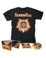 HAMMERFALL - Dominion / Digipak CD + T- Shirt Bundle