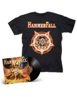 HAMMERFALL - Dominion / BLACK LP Gatefold + T- Shirt Bundle