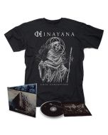 HINAYANA - Death Of The Cosmic / Digipak CD + T-Shirt Bundle