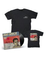 JOHN GARCIA-John Garcia And The Band Of Gold/Limited Edition BLACK Vinyl LP + T-Shirt Bundle