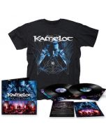 KAMELOT - I Am The Empire - Live From The 013 / BLACK 2LP + DVD + T-Shirt Bundle